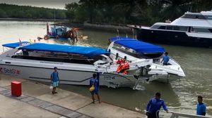 เกิดเหตุเรือชนกันที่ภูเก็ต ทำคนเสียชีวิต 2 เจ็บอีกเพียบ