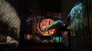 ตื่นตา! นิทรรศการศิลปะดิจิทัลสุดล้ำ 'โพธิเธียเตอร์' ในโบสถ์วัดสุทธิวราราม กรุงเทพฯ