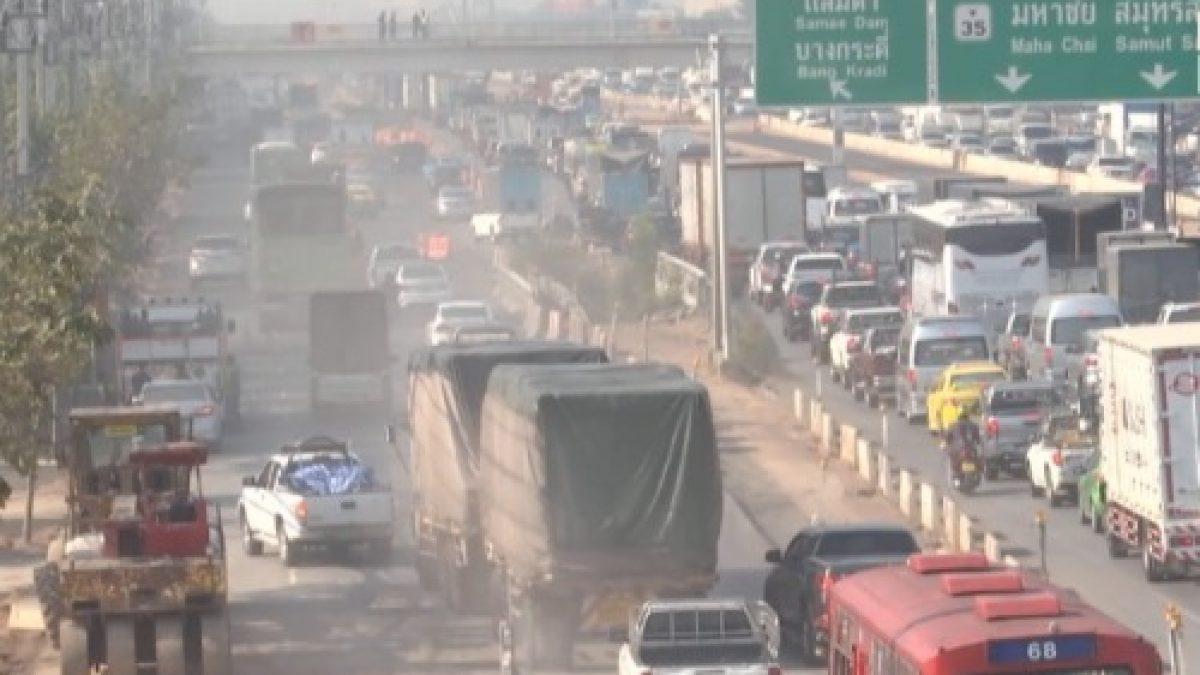 ขานรับห้ามรถบรรทุกวิ่งเข้าเมืองแก้  PM 2.5
