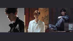 3 พระเอกจีน หลี่อี้เฟิง-โฮ้วหมิงฮ่าว-จูอี้หลง