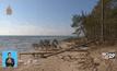 ปัญหาการกัดเซาะชายฝั่งทะเลในลัตเวีย