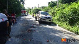 ชาวบ้านเมืองคอนร้อง ! ถนนชำรุดหนัก ไร้หน่วยงานดูแล