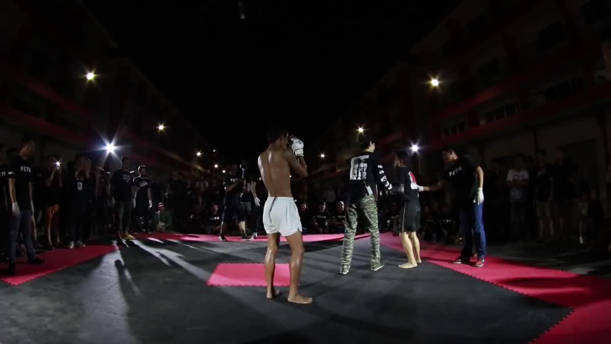 FIGHT CLUB THAILAND มังกรเดือด เบ๊นศาลาน้อย x โจน้อย คู่ที่ 229