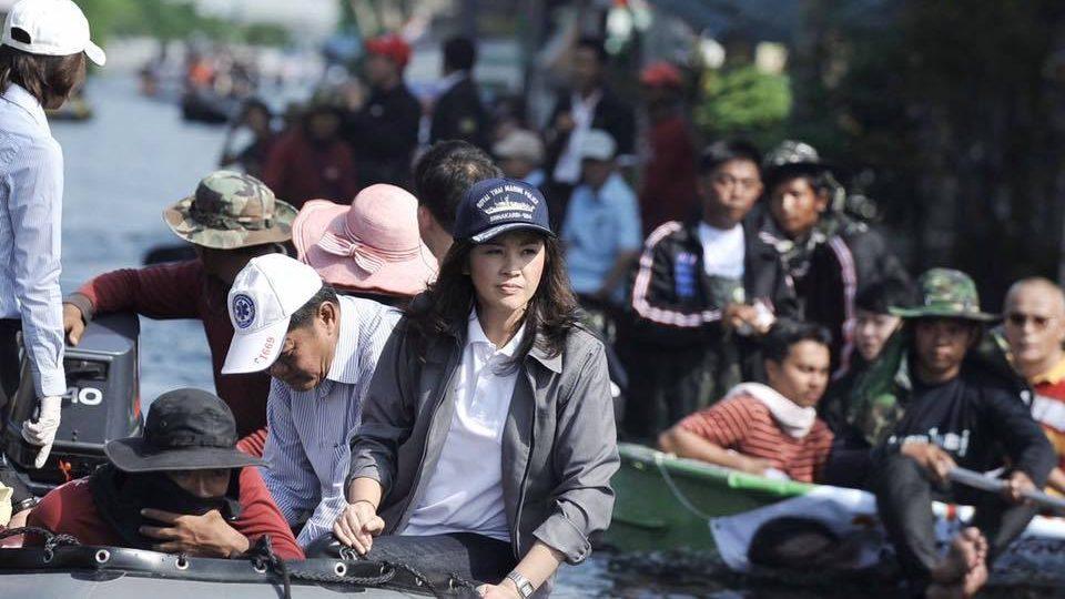 ยิ่งลักษณ์ โพสต์ให้กำลังใจ พี่น้องคนไทยประสบภัยน้ำท่วม
