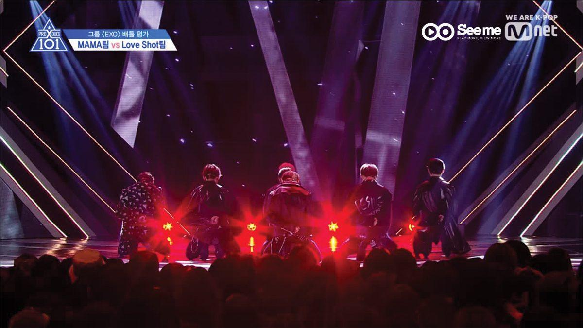 PRODUCE X 101 ㅣทีม 배배 - EXO ♬MAMA @การแข่งขันรอบ Group Battle [EP.3]