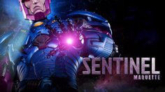 Sentinel Maquette ผู้พิฆาตมนุษย์กลายพันธุ์ จาก SIDESHOW