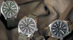 Hamilton Khaki Field Camouflage นาฬิกาสายเลือดทหาร พร้อมจะลุยกับคุณทุกย่างก้าว