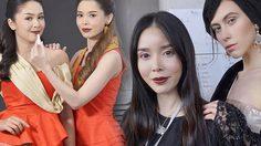 ตัวเก็งนางงาม Mrs.noble จ๋า วิลาสินี ใส่ชุดไทยแต่งหน้า  ดังไกลบนรันเวย์ระดับโลก!