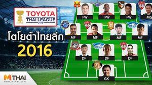 BEST XI : ที่สุดผู้เล่นยอดเยี่ยมโตโยต้า ไทยลีก ประจำสัปดาห์ 24
