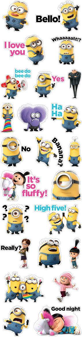 Viber Despicable Me Minions Sticker Pack