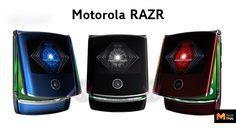 เผยภาพคอนเซปต์อีกชุดของ Motorola RAZR ที่มาด้วยกันถึง 3 สี