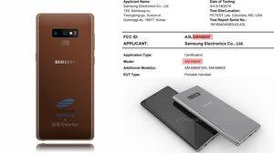 ข้อมูลใหม่ Galaxy Note 9 ผ่านมาตรฐาน FCC แล้ว คาดเปิดตัว 9 สิงหาคมนี้