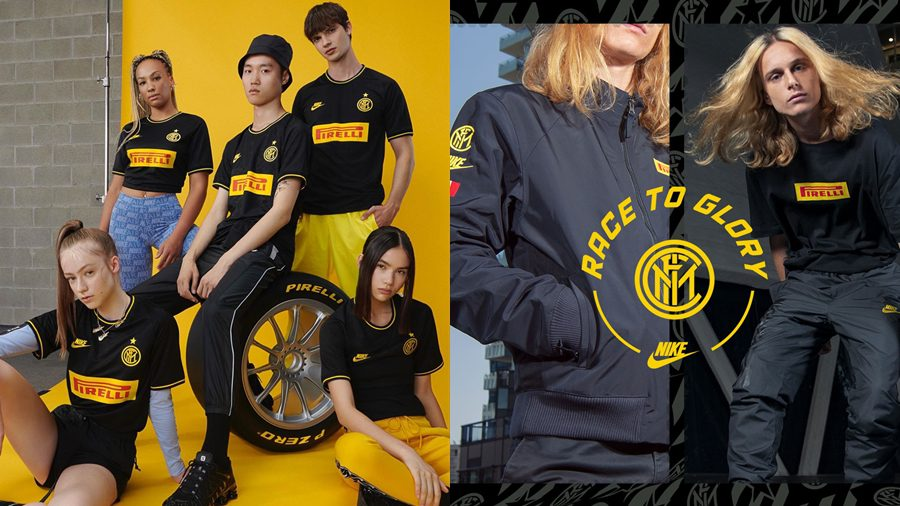 Nike เปิดตัว Inter Milan x Pirelli Racing ปล่อยคอลเลคชั่นครบรอบ 25 ปี!!