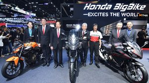 Honda เปิดตัวบิ๊กไบค์ 500 Series ใหม่ และ CBR650R, CB650R ครั้งแรกของโลก