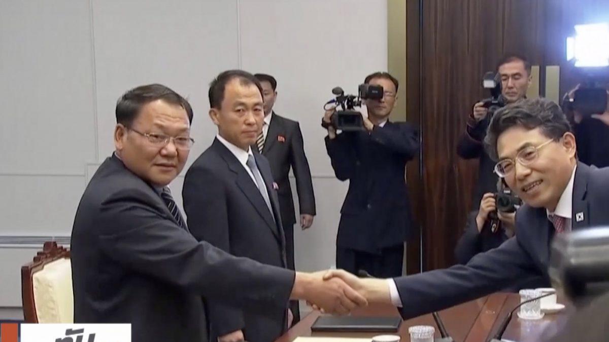 สองเกาหลีเหนือเริ่มเจรจาเชื่อมรถไฟชายแดน