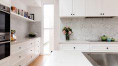ไอเดียแต่ง ห้องครัวสีขาว สะอาดตา น่ามองน่าใช้แบบสุดๆ