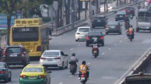 ตำรวจชี้ มาตรการรถทะเบียนคู่-คี่วิ่งสลับวัน ไม่ช่วยลดมลพิษ