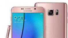 คุ้นแฮะ!? ซัมซุง เปิดตัว Note 5 สีใหม่ สีชมพู Rose Gold!