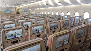 Emirates adds 98 seats to largest passenger plane for record of 615