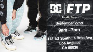 DC Shoes และ FTP เปิดตัวรองเท้าสเก็ตสุดคลาสสิค