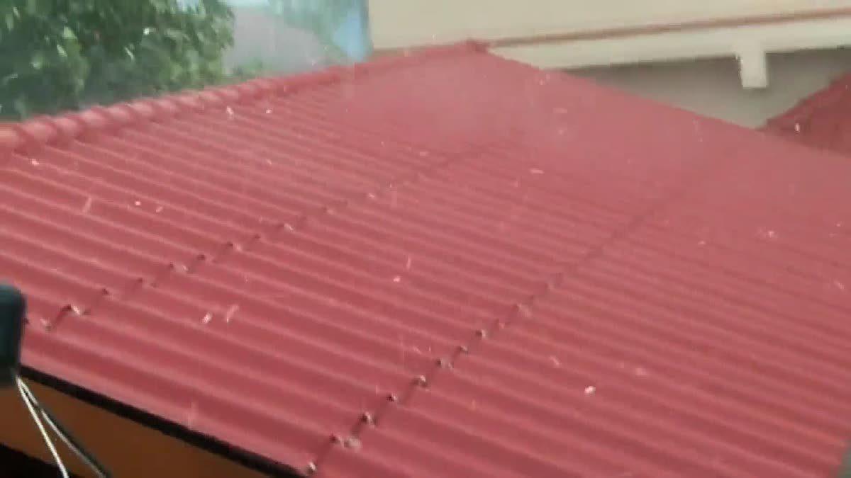 พายุฤดูร้อนถล่มเมืองพะเยา ได้รับผลกระทบเล็กน้อย