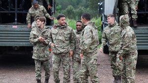 ทั้งหมดจัดแถว! เอฟเอ จับ 'ทีมชาติอังกฤษ' ฝึกพิเศษในค่ายทหาร ก่อนลุยเกมเสาร์นี้