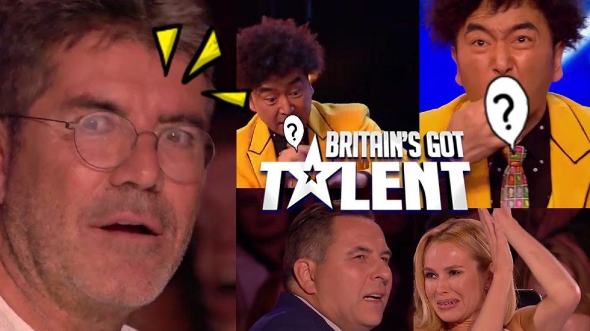กรรมการถึงกับตาถลน! เมื่อได้เห็น สิ่ง..ที่นักมายากล ดึงออกมาจากปาก บนเวที  Britain's Got Talent