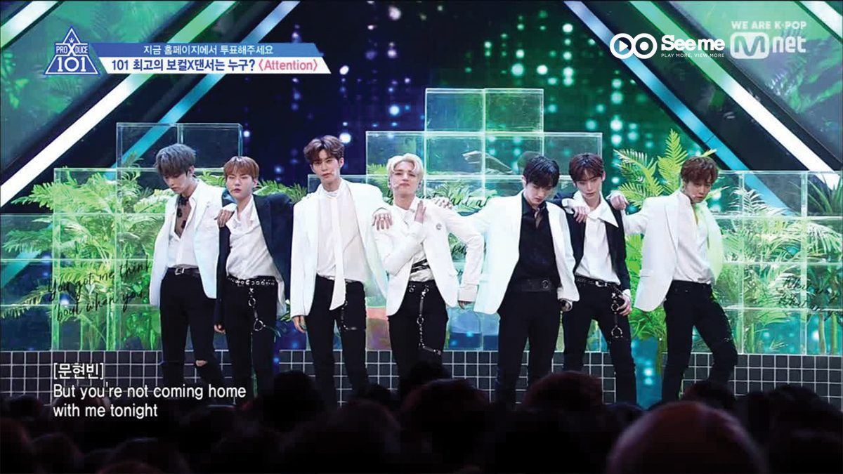 [THAI SUB] PRODUCE X 101 ㅣทีม 양념 반 후라이드 반 - Charlie Puth ♬Attention @การแข่งขันรอบ Position [EP.6]