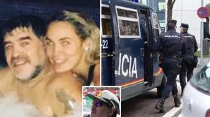 น้ำตาลขม!มาราโดน่าโดนตำรวจสอบข้อหาทำร้ายผู้หญิงแม้เพิ่งโชว์สวีทวาเลนไทน์