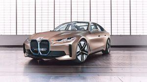 ให้โลกได้ยลโฉม BMW ปล่อย Concept i4 รถยนต์ไฟฟ้าแห่งอนาคต