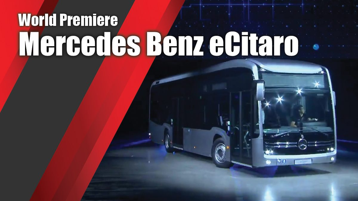 World Premiere Mercedes Benz eCitaro