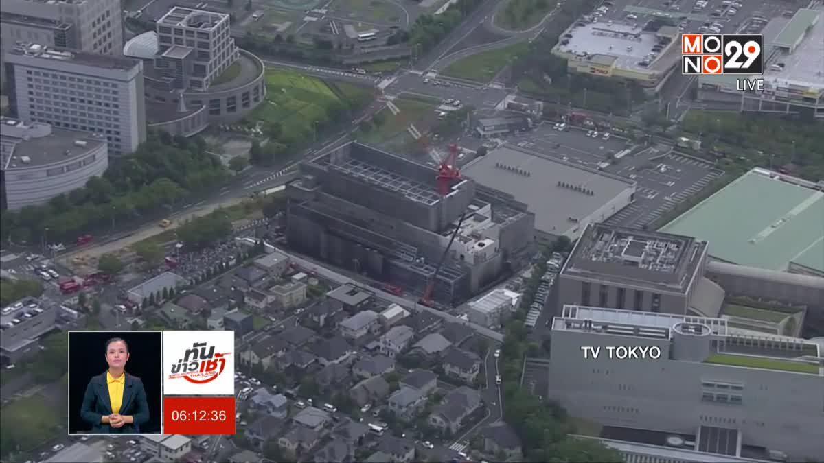 เหตุไฟไหม้อาคารที่กำลังก่อสร้างในญี่ปุ่น ดับ 5