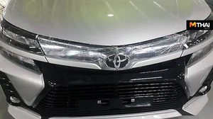 หลุดว่อนเน็ต 2019 Toyota Avanza เเละ Avanza Veloz รุ่นปรับโฉม ที่อินโดนีเซีย
