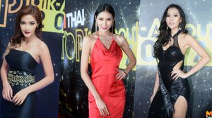 พรมแดงเดือด!! รวมสาวเซ็กซี่จาก 3 ค่าย Playboy, MAXIM, RUSH ในงาน MThai Top Talk-About 2017