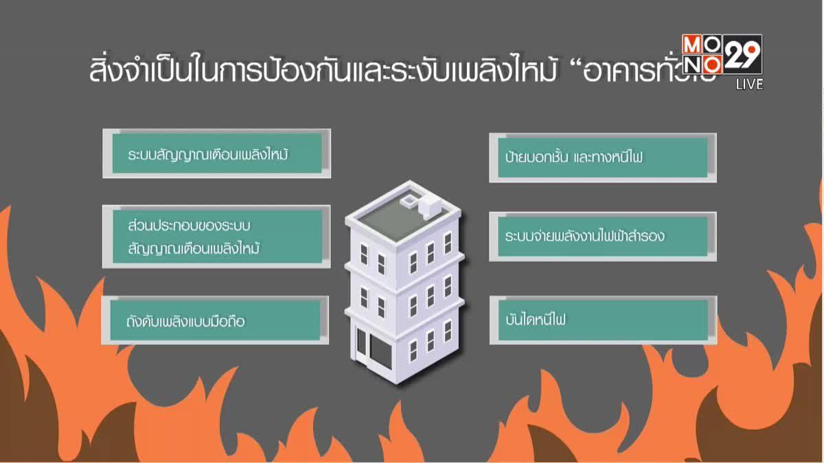 คุยครบกับพบเอก : บทเรียน... เพลิงไหม้อาคาร