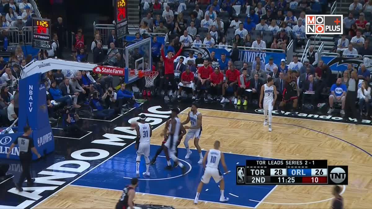 [Highlight] Toronto Raptors VS. Orlando Magic