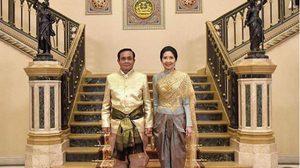 นายกฯ สวมชุดไทยย้อนยุค ร่วมงานสมุททานุภาพกู้ชาติ 250 ปี
