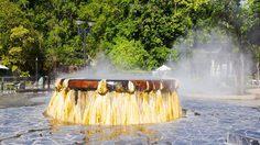 บ่อน้ำร้อนรักษะวาริน จ.ระนอง อาบน้ำแร่ แช่ออนเซ็น สไตล์ไทยแลนด์