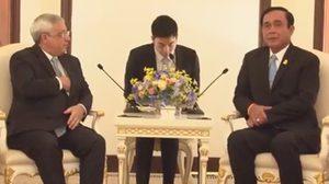 นายกฯพบทูตอิสราเอล คุยเรื่องขยายเศรษฐกิจลงทุน