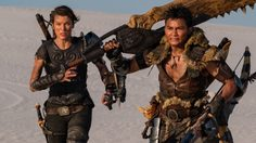 มิลลา โจโววิช – โทนี จา พร้อมล่าแย้!! ชุดพร้อมอาวุธพร้อม ในภาพล่าสุดหนัง Monster Hunter