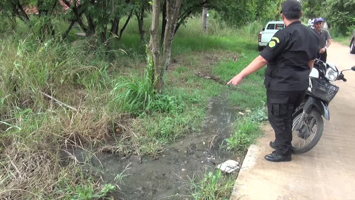 ทหาร-เทศกิจ ลงพื้นที่ตรวจสอบร้องเรียนปัญหากลิ่นหมักไก่