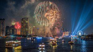 รวม สถานที่เคาท์ดาวน์ ปีใหม่ 2562ทั่วไทย ชมพลุ ดอกไม้ไฟ แสงสีเสียง