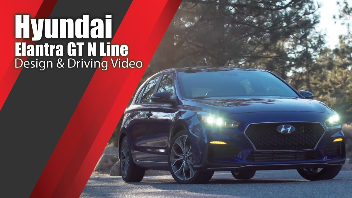 Hyundai Elantra GT N Line Design & Driving Video