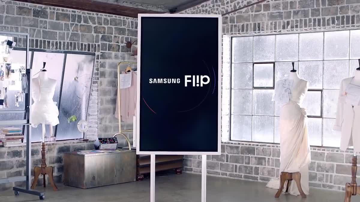 Samsung Flip ดิจิทัล ฟลิปชาร์ทอัจฉริยะ พร้อมปฏิวัติรูปแบบการประชุมสู่อนาคต