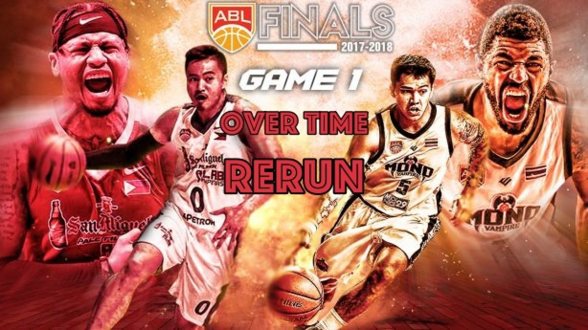 ช่วงต่อเวลา การเเข่งขันบาสเกตบอล ABL2017-2018 (Finals Game1) : Alab Philipinas (PHI) VS Mono Vampire (THA) 22 Apr 2018