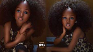 สวรรค์ช่างปั้น Jare Ijalana เด็กหญิงไนจีเรีย วัย 5 ขวบ ที่ได้ชื่อว่า สวยที่สุดในโลก