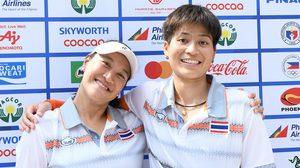 แทมมี่ ฟอร์มแรง ทะลุชิงทอง 2 รายการ หญิงคู่-คู่ผสม ศึกเทนนิส ซีเกมส์ 2019