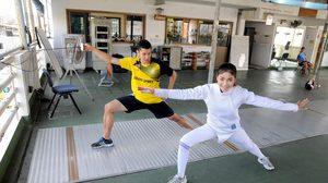 """น้องเอย ชวนมาออกกำลังกายกับ""""กีฬาฟันดาบสากล"""""""