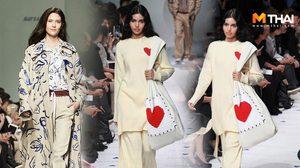 ย้อนชมคลิป วีนา เดินแบบร่วมกับ มารีญาและเจด้า ในงาน ELLE Fashion Week