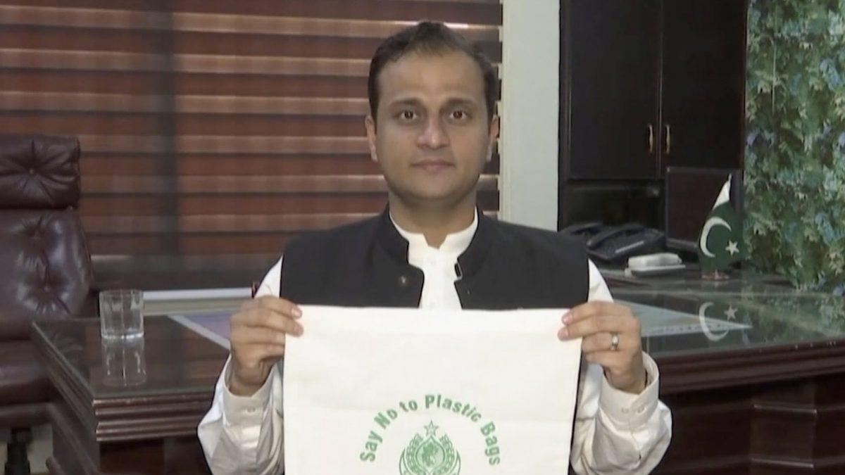 ปากีสถานหนุนให้ใช้ถุงกระดาษแทนพลาสติก